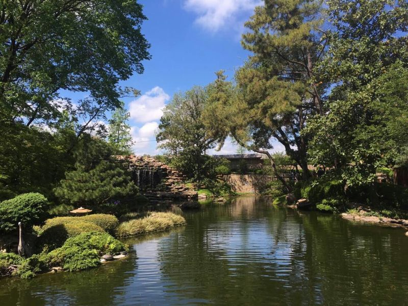 Japanese Botanical Garden at Dallas, Texas