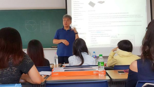 Special class taught by Professor Han – Dean of Faculty of Technology Dancook University