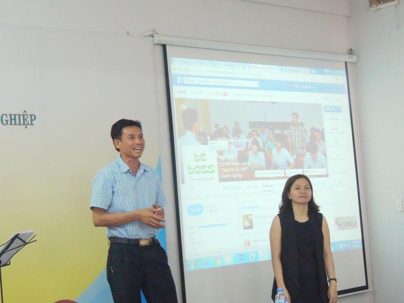 Anh Nguyễn Ngọc Tuấn - Giám đốc điều hành Cty CP Thuế Kế Toán Luật Việt Á tại buổi chia sẻ