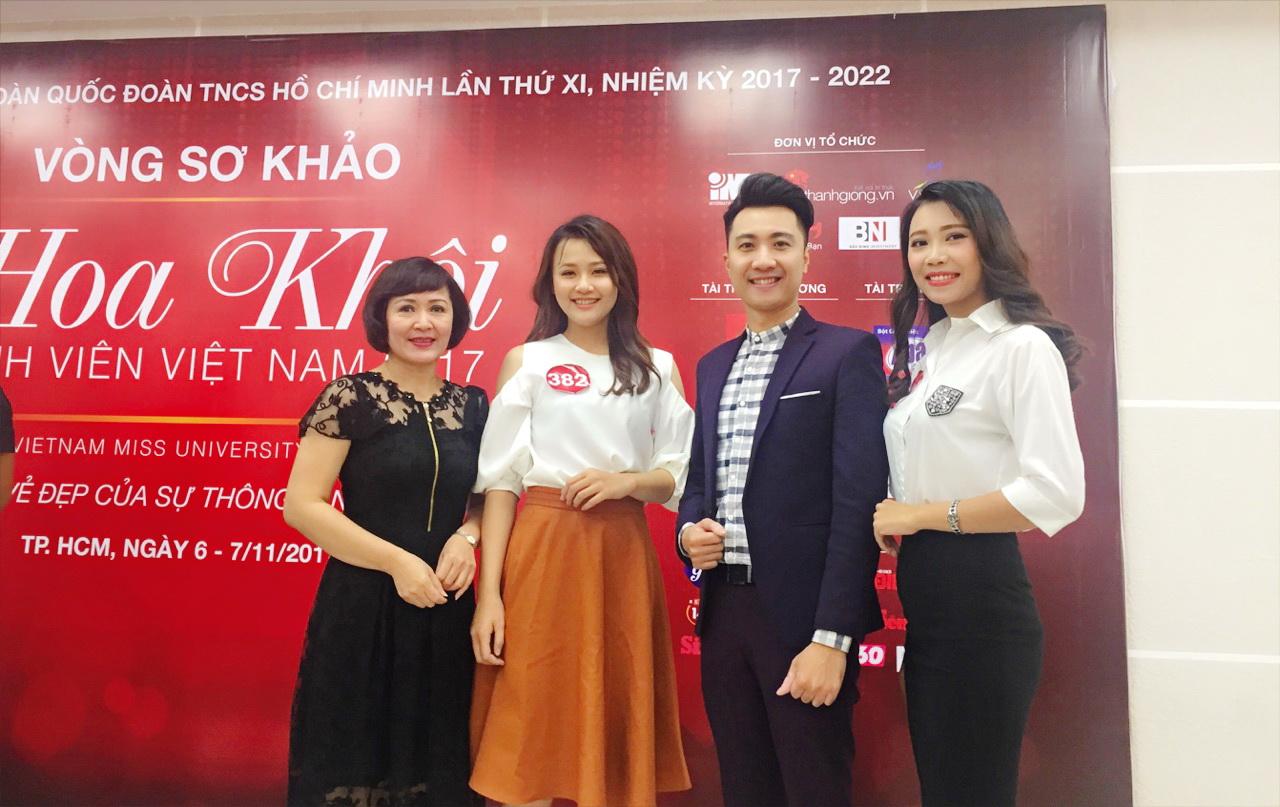 """Sinh viên Trường Đại học Công nghệ Đồng Nai tham dự cuộc thi """"Hoa Khôi sinh viên Việt Nam 2017"""""""