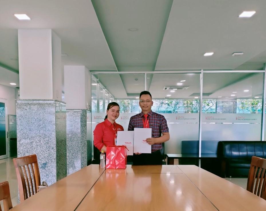 Công ty TNHH Yalult Việt Nam đồng hành cùng sinh viên DNTU