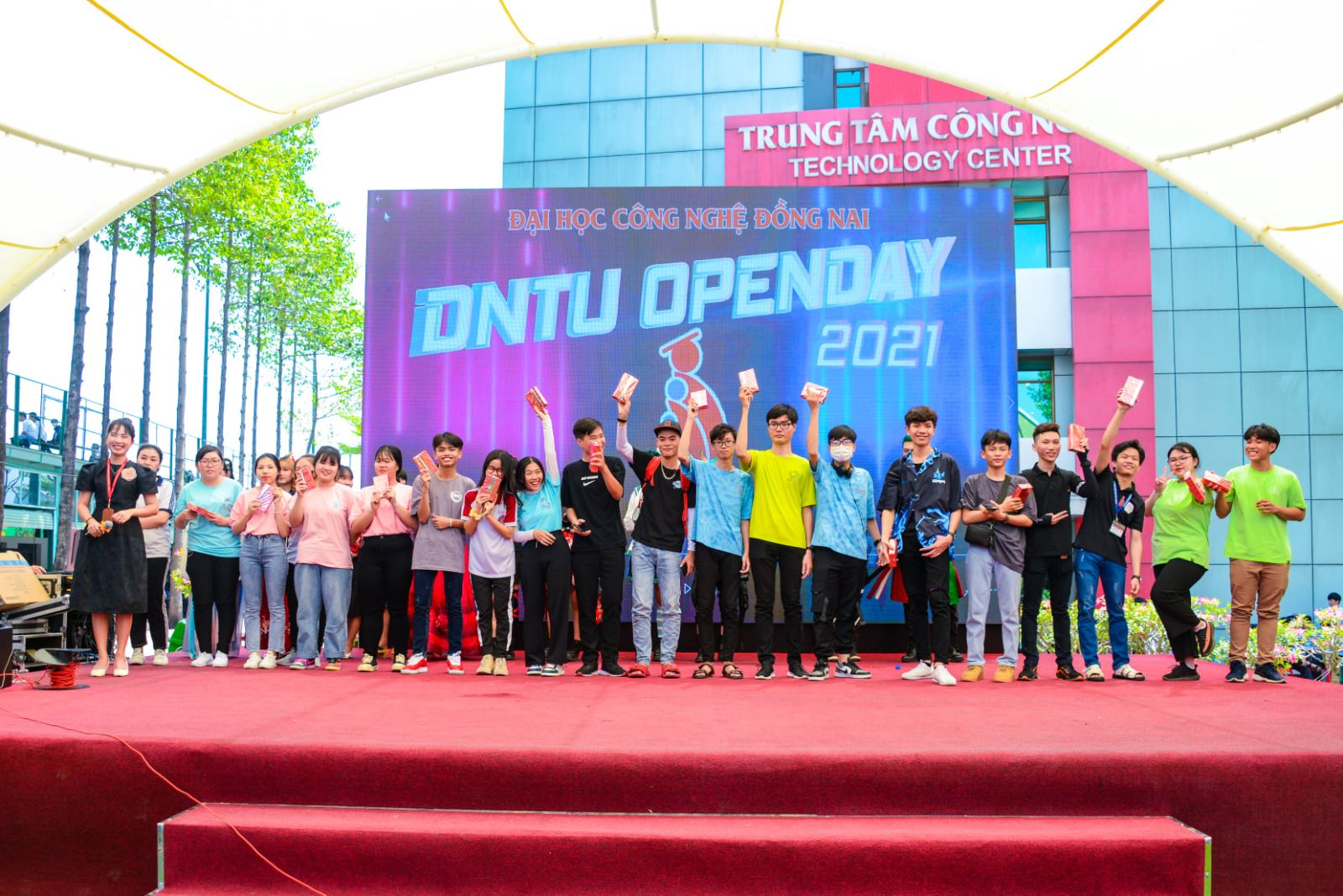 [DNTU Open Day 2021]: Một ngày chủ nhật thật khác tại DNTU