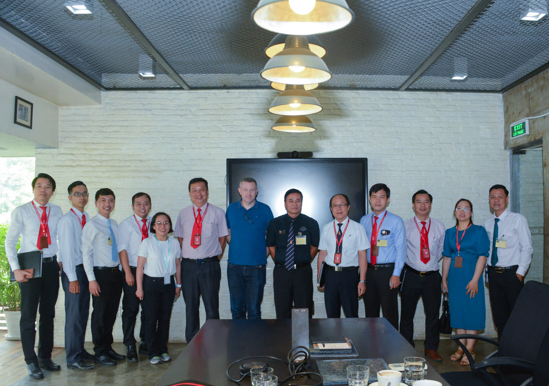 DNTU gặp gỡ và làm việc cùng Công ty TNHH Saitex