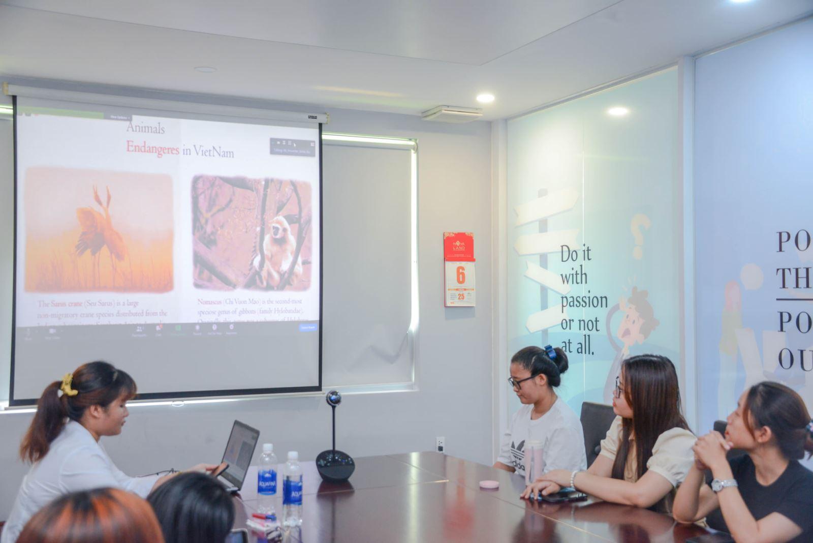 DNTU: Sinh viên DNTU giao lưu cùng bạn bè Quốc tế trong chương trình