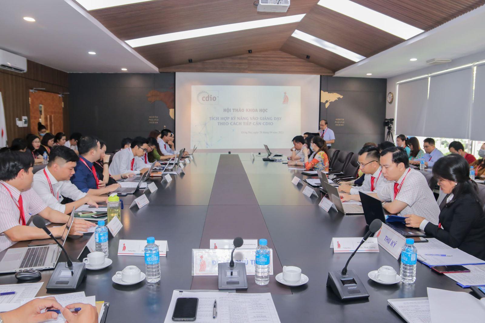 DNTU: Hội thảo khoa học cấp trường