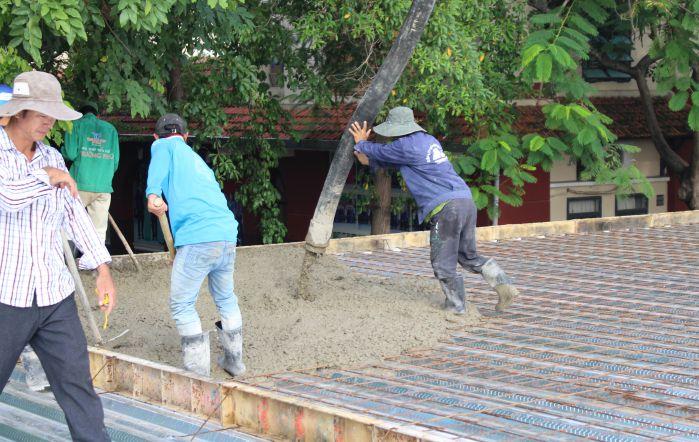 Hình ảnh những ngày đầu công trình vừa khởi công xây dựng