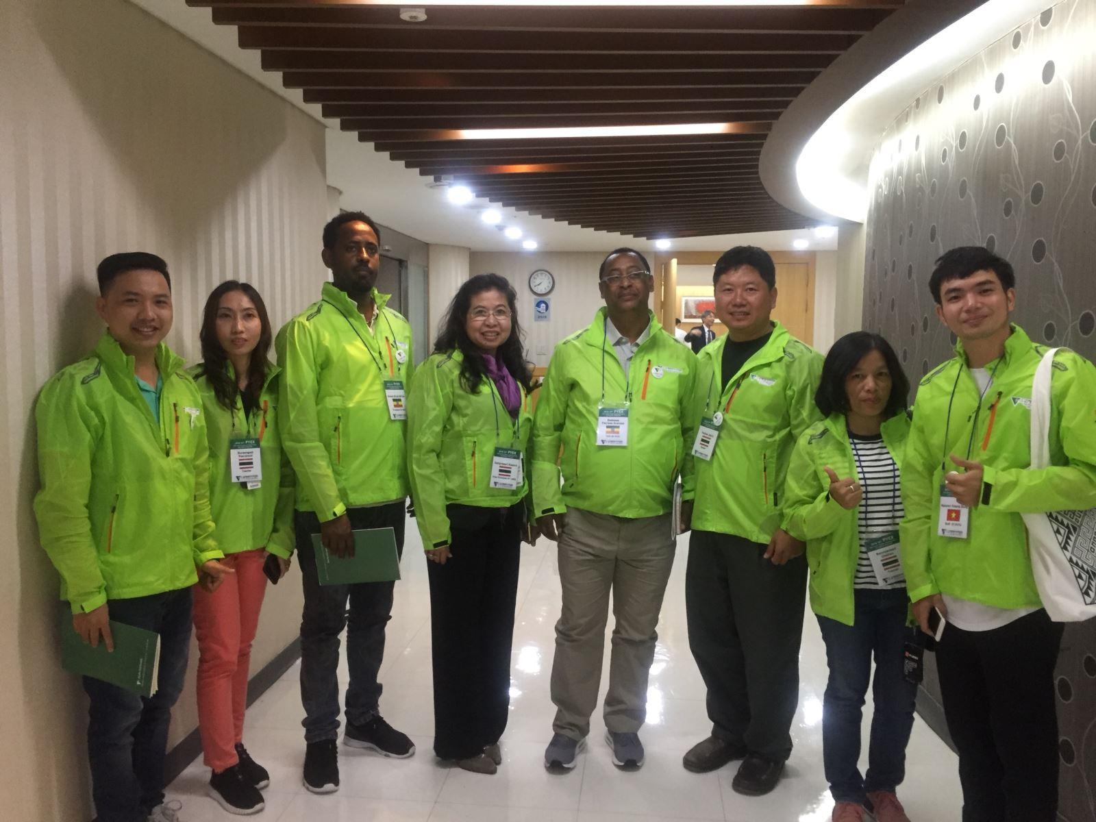 """Đoàn DNTU tham dự hội nghị """"The 12th PAS youth Corps International Exchange Program forum"""" tại Hàn Quốc"""