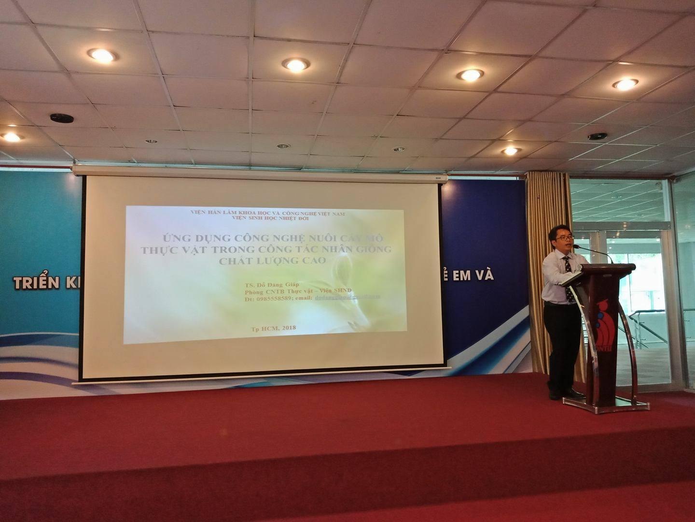 Hội thảo Công nghệ sinh học ứng dụng