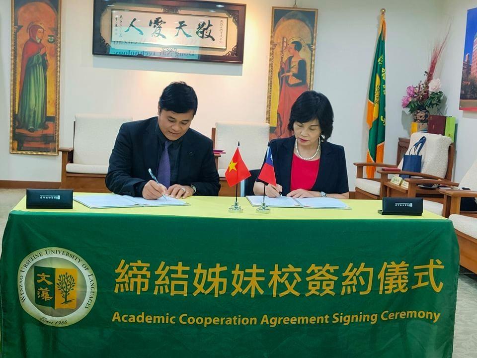 Trường Đại học Công nghệ Đồng Nai công tác tại Đài Loan