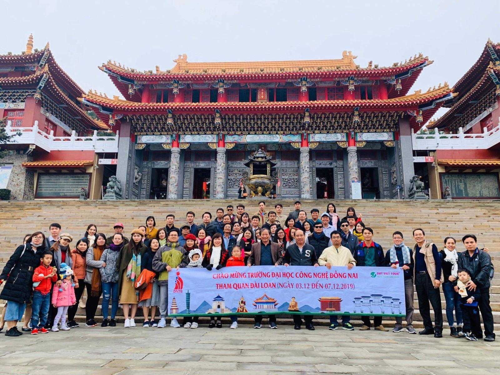 DNTU tổ chức cho toàn thể Cán bộ, Giảng viên, Nhân viên du lịch tại Đài Loan 12/2019