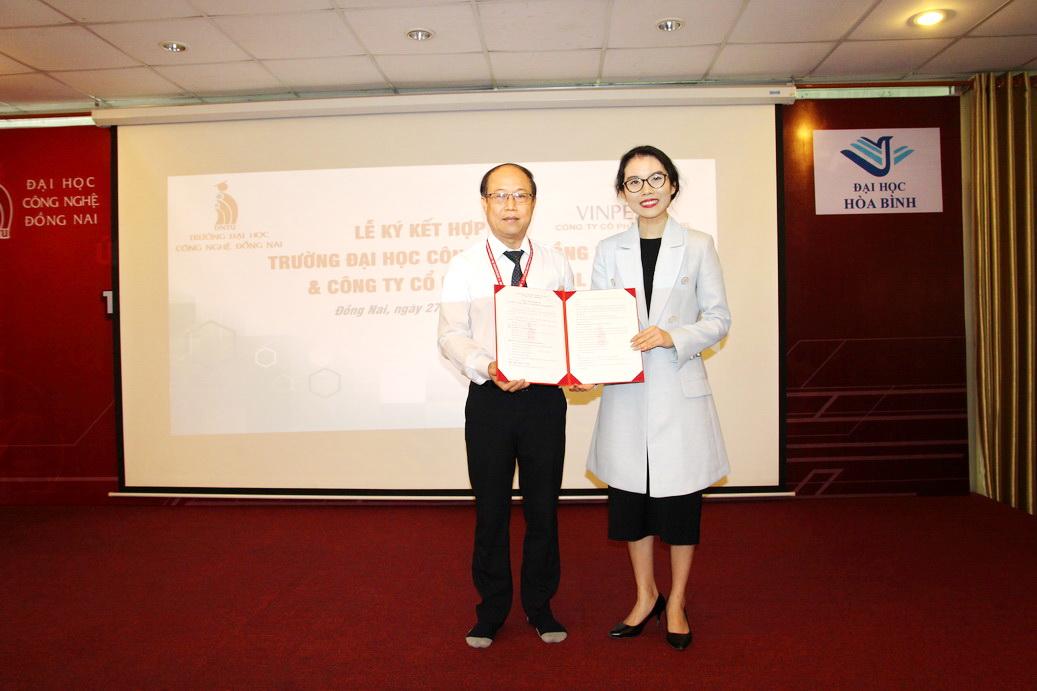 Trường Đại học Công nghệ Đồng Nai hợp tác đào tạo cùng Công ty Cổ phần Vinpearl