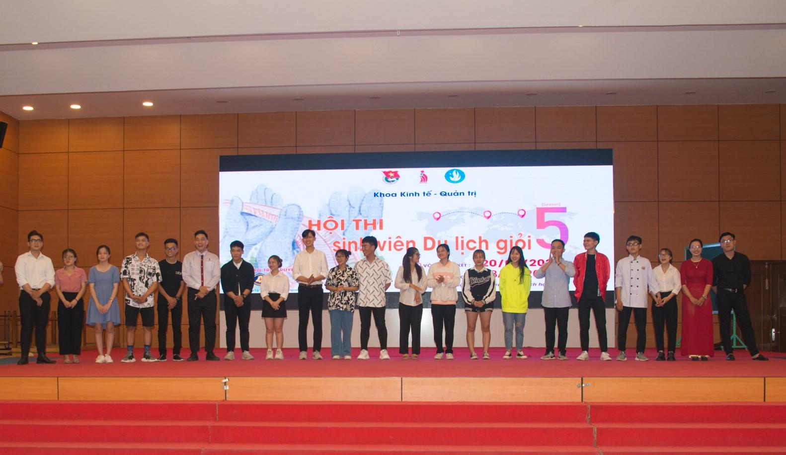 DNTU: Chung kết Hội thi Sinh viên Du lịch giỏi lần V - 2021