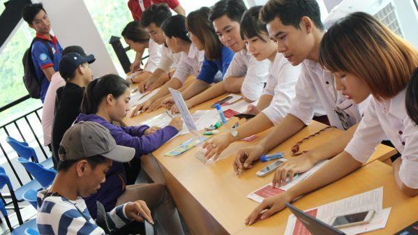 Các trường ngoài công lập luôn coi trọng công tác tuyển sinh