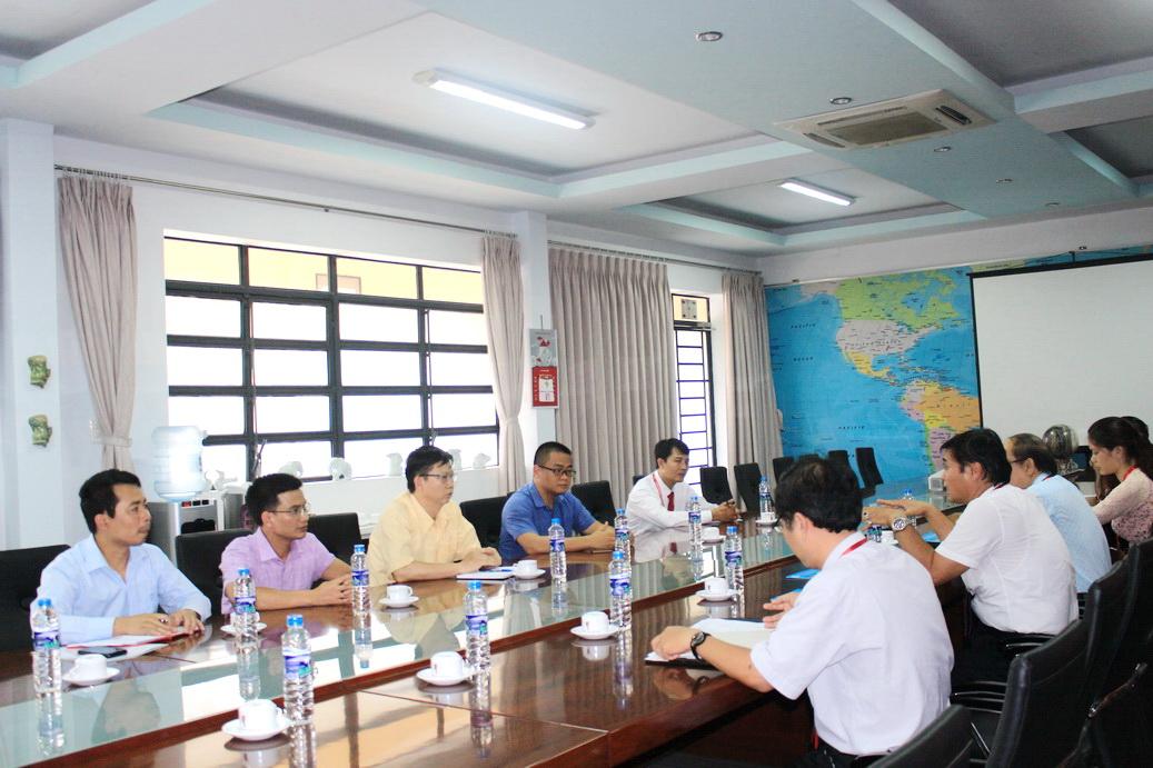 Trường Đại học Hùng Vương tham quan và học hỏi mô hình đào tạo tại DNTU