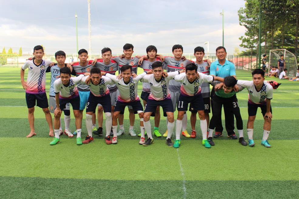 Khởi tranh giải bóng đá sinh viên DNTU 2017