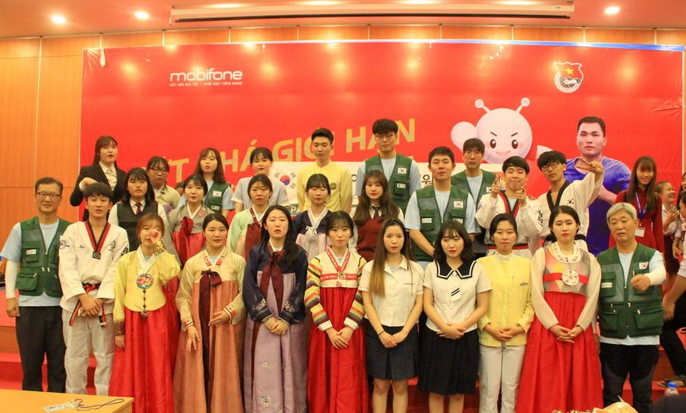 Khai mạc giao lưu văn hóa và ngôn ngữ với đoàn tình nguyện Hiệp hội châu Á - Thái Bình Dương đến từ Hàn Quốc (PAS)