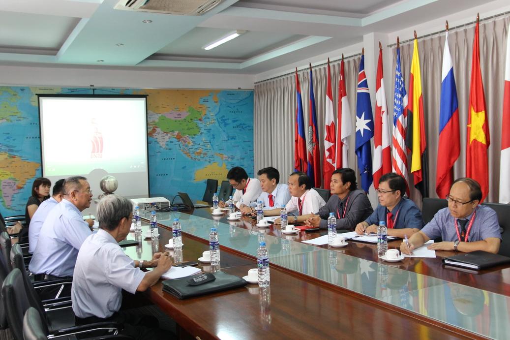 DNTU xây dựng lộ trình gia nhập tổ chức CDIO thế giới