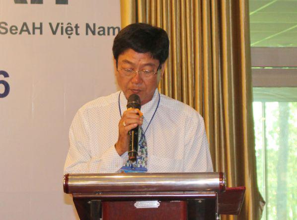 Ông Phan Đình Chương - Chánh Văn phòng Sở Giáo dục và Đào tạo tỉnh Đồng Nai phát biểu ý kiến