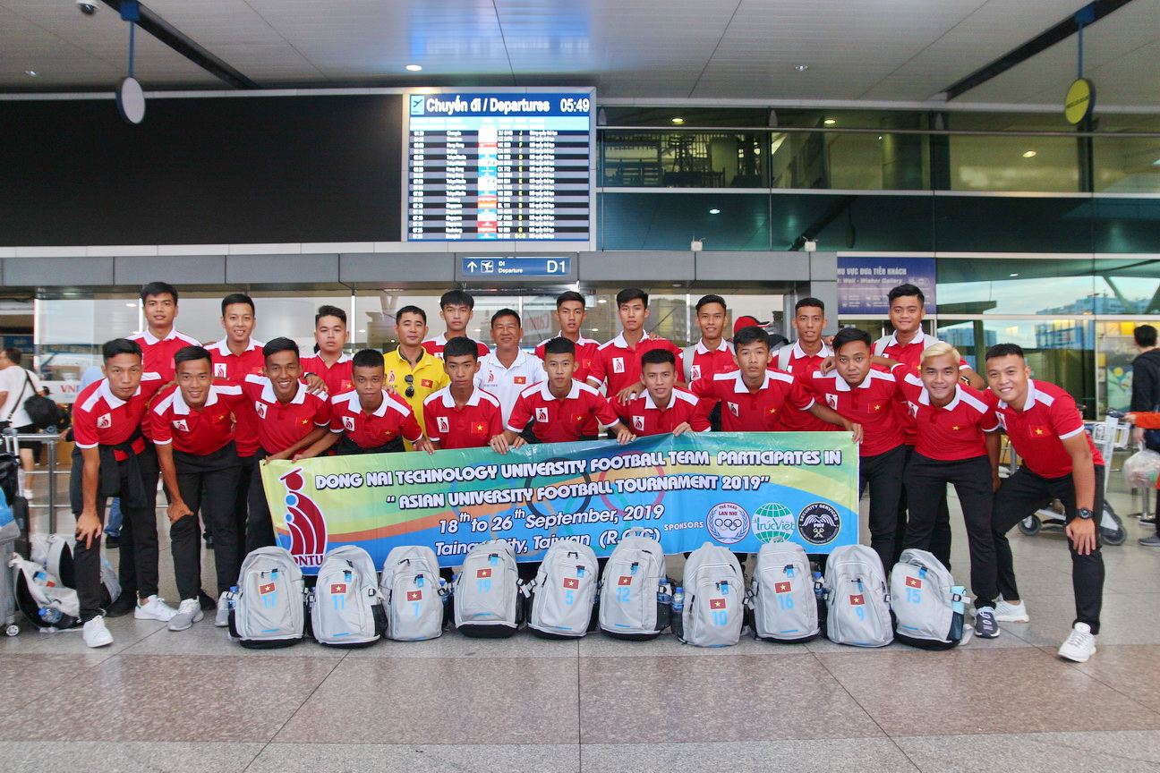 Đội tuyển bóng đá DNTU hội quân tại Taiwan, Đài Loan chuẩn bị cho giải vô địch các trường Đại học khu vực Châu Á 2019