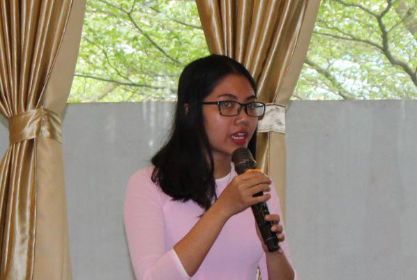 Sinh viên Chu Thị Nguyệt Nga và câu hỏi