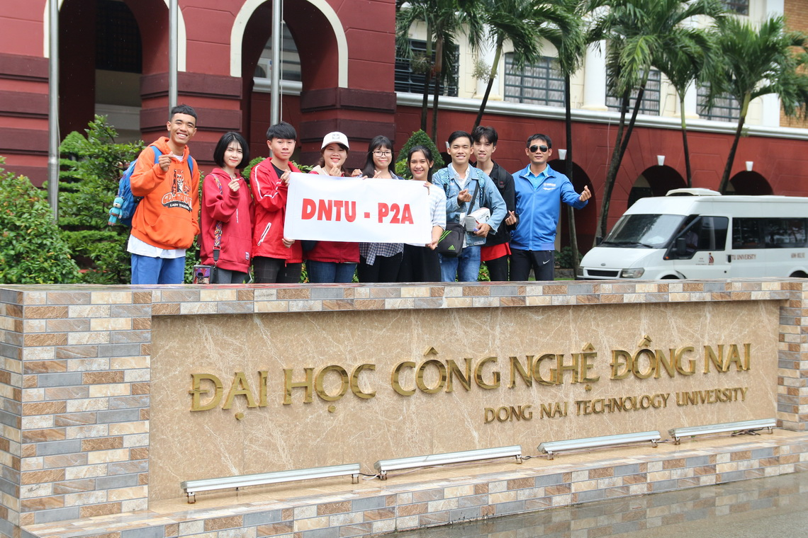 12 thành viên DNTU tham dự hội nghị sinh viên Asean (P2A-Asean In One 2018) tại Đà Nẵng