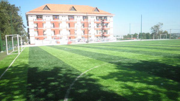 Sân bóng và khu vui chơi thể dục, thể thao mới đã hoàn thành