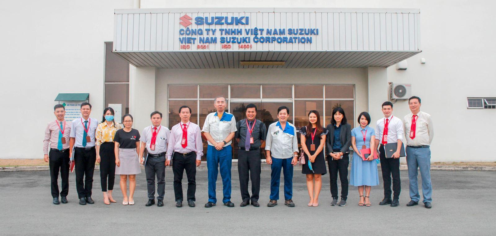 Trường Đại học Công Nghệ Đồng Nai đến thăm và làm việc về các chiến lược đào tạo với Công ty TNHH Việt Nam Suzuki