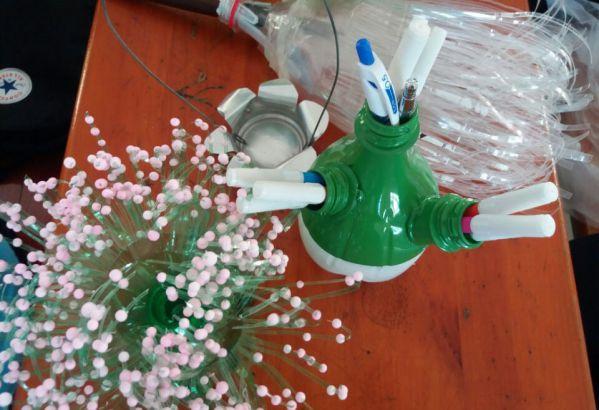 Các sản phẩm từ vỏ chai nhựa