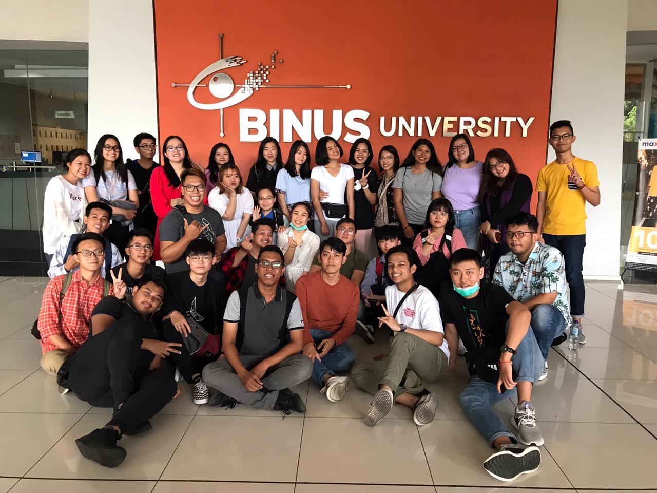"""Sinh viên DNTU tiếp tục tham gia hành trình """"Passage to Asean"""" ở xứ vạn đảo – đại học Bina Nusantara, Indonesia"""