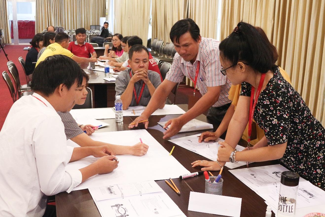DNTU đào tạo kỹ năng cho giảng viên theo đề xướng