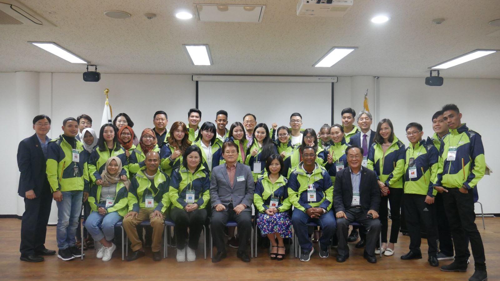 DNTU tham gia Diễn đàn thanh niên khu vực Châu Á Thái Bình Dương (PYEX) năm 2019 do Hiệp hội Châu Á Thái Bình Dương (PAS) tổ chức tại Hàn Quốc