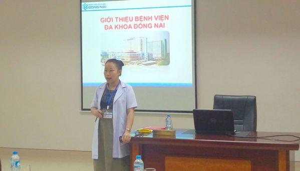 Sinh viên được tìm hiểu về trang thiết bị cũng như mô hình hoạt động của bệnh viện