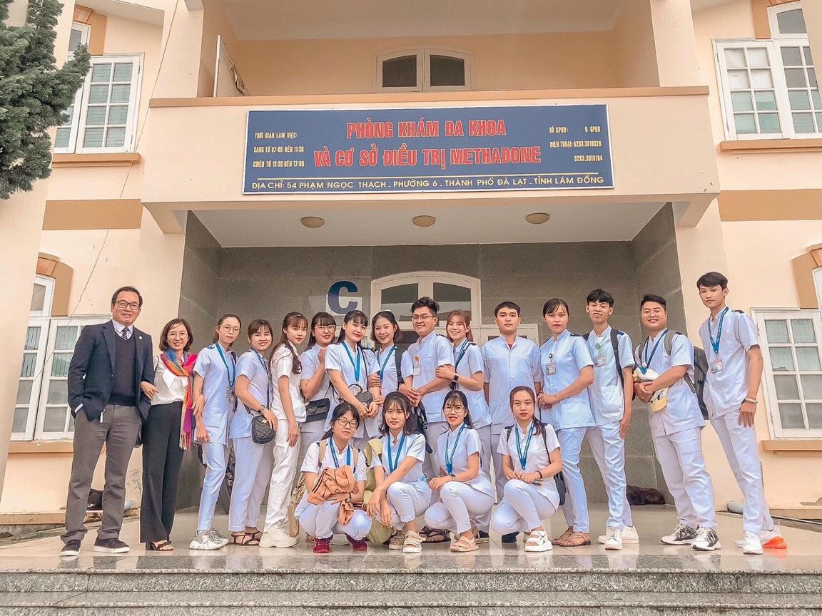 Sinh viên DNTU tham quan kiến tập tại trung tâm CDC Lâm Đồng