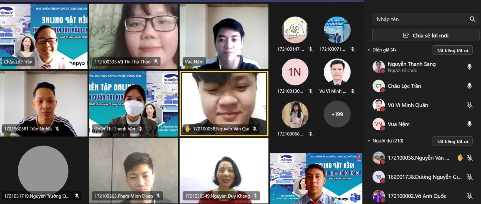 Kiến tập và Định hướng nghề nghiệp cho Tân sinh viên ngành Quản trị kinh doanh
